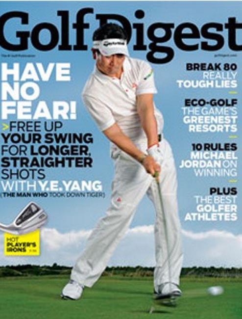 Golf Digest Cover